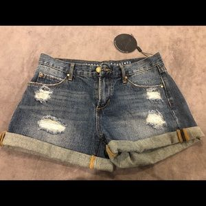 Articles of society destroyed denim shorts!!